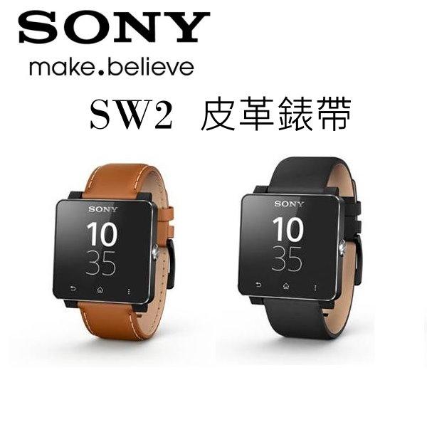 SONY SmartWatch2/SW2 原廠皮革錶帶~SE20