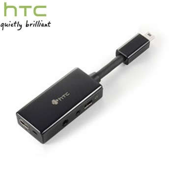 HTC YC A300原廠多功能音源轉接頭(無吊卡)~適用:Touch Dual/P5500/Touch 3G/T3232/Touch PRO/T7272/Touch PRO2/T7373