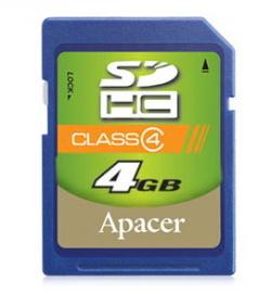 【Class 4】APACER 宇瞻 SDHC 4G/SD 4G ~公司貨終身保固~Class 4