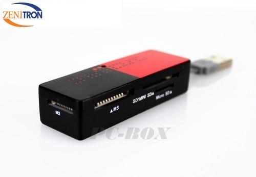 【增你強公司貨】TF/ M2/MicroSD/MiniSD/MMC/SD/SDHC/DUO/PRO DUO 43合一 讀卡機