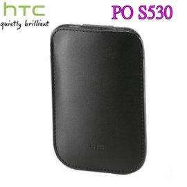 HTC PO S530 原廠直式手拿包(黑色-吊卡裝) 先創代理~適用:HTC HDmini/SMART/WildFire/WildFire S/T5555/A3333/A6380/A510E