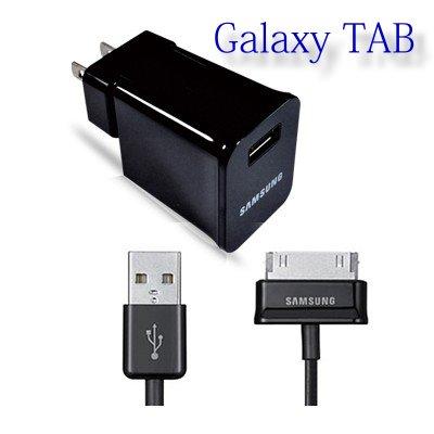 SAMSUNG Galaxy TAB 7.7/P6800/P6810/NOTE 10.1/N8000 原廠 旅充組~含傳輸充電線~輸出:5.0V 2A