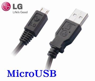 LG  MicroUSB 原廠數據傳輸線~適用:LG  GX200/GX210/GX300/GX500/KM750/KM555/KV600