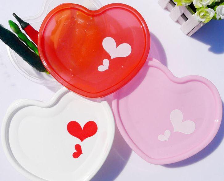 可愛愛心透明保鮮盒$39元(隨機出款)