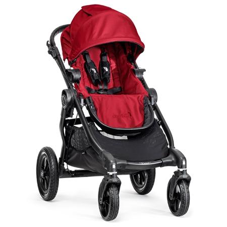 【淘氣寶寶】【限量●黑框】Baby Jogger City Select 推車界的變形金剛 四輪單人手推車