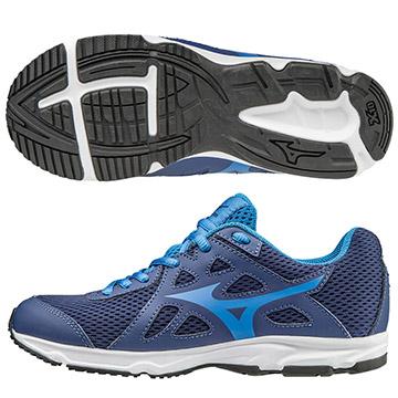 K1GC172626(藍X水藍)MIZUNO SPARK 2 Jr. 一般型大童鞋 S【美津濃MIZUNO】
