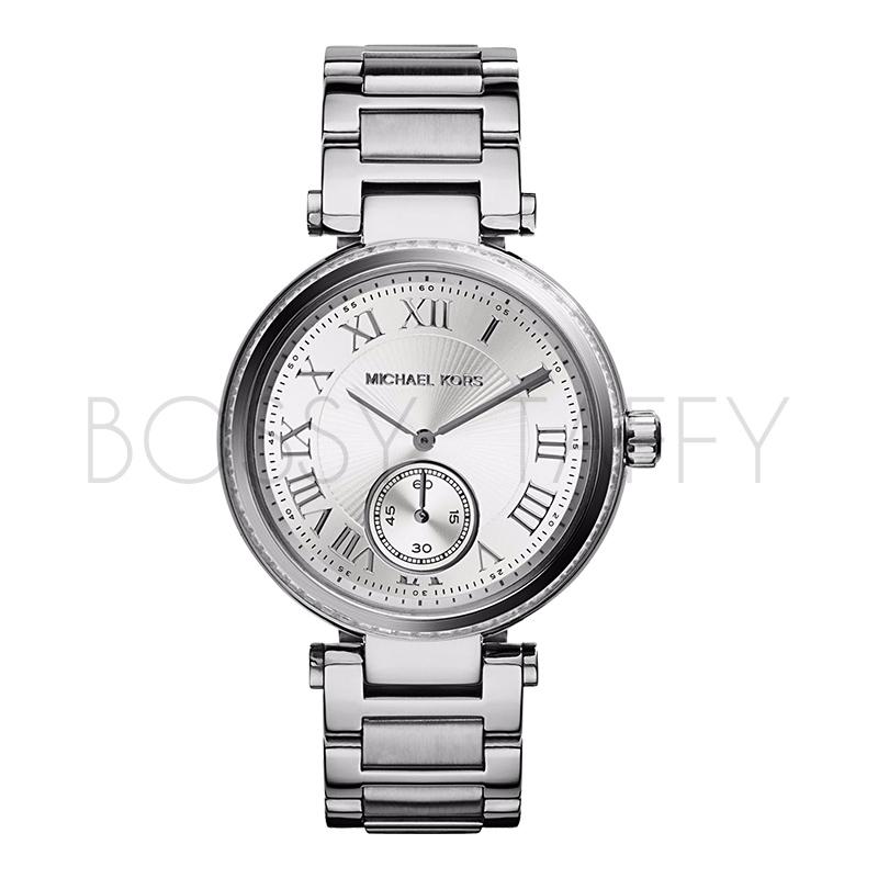 MK5866 MICHAEL KORS 不銹鋼銀色錶盤 女錶