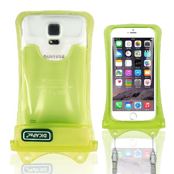 DiCAPac WP-C1 高耐磨手機防水袋(5.1吋以下)-綠色