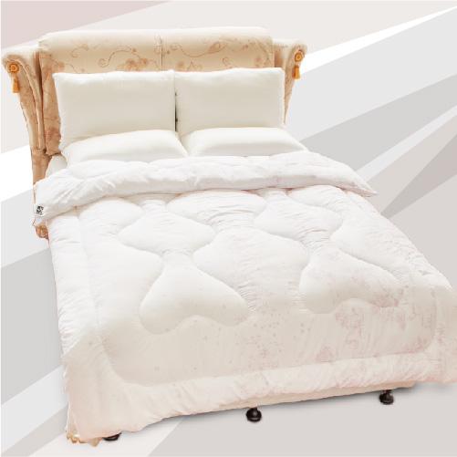 【名流寢飾家居館】新世紀羊毛發熱被.4.5X6.5尺單人.全程臺灣製造