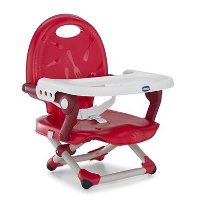 【悅兒園婦幼生活館】Chicco Pocket Snack攜帶式輕巧餐椅座墊(櫻桃紅)