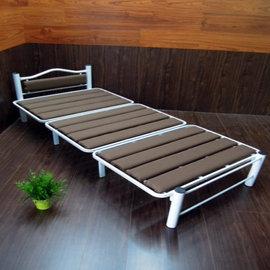 【台客嚴選】簡約風DIY組合床架(咖啡)/單人床/多功能床椅