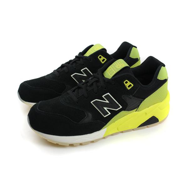 NEW BALANCE 580系列 休閒鞋 黑 男女款 no924