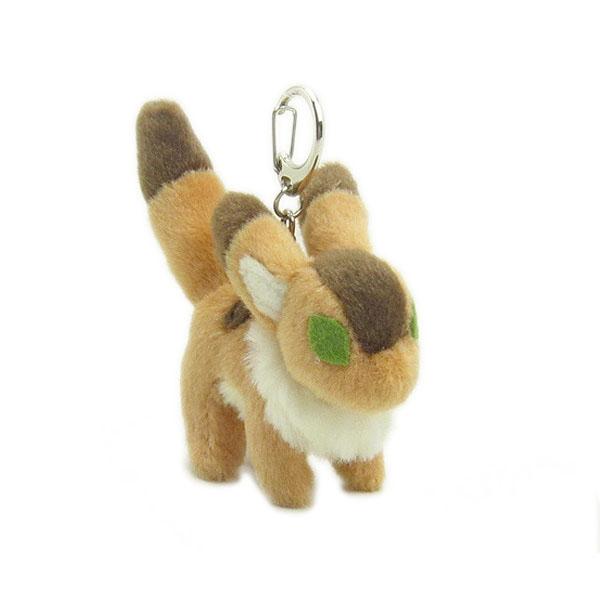 【真愛日本】16071100013絨毛造型娃扣式鎖圈-迪多   守城機器人 LAPUDA 天空之城 鑰匙圈 吊飾 正品