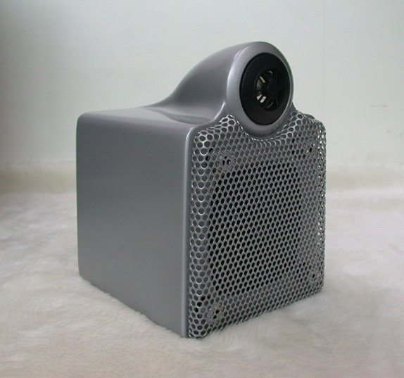 ANV【書架型喇叭】捷登霧面銀色烤漆環繞喇叭(M-310MS)一個