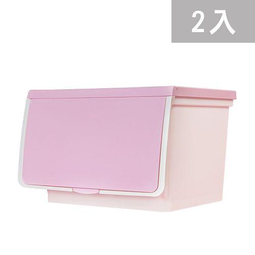大象平方-繽紛系列直取式收納箱-CM3-006二入(38L)