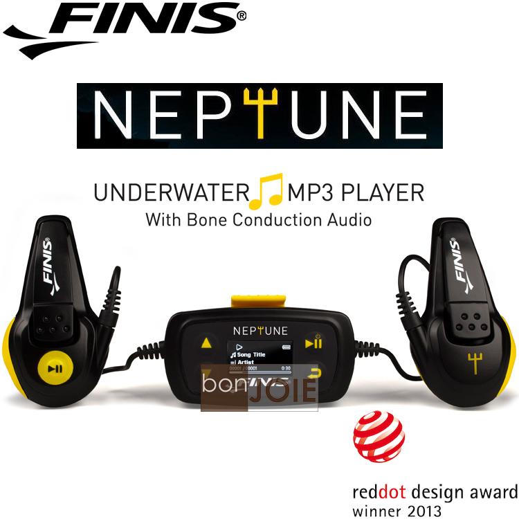::bonJOIE:: 美國進口 新款 FINIS Neptune V2 Underwater MP3 Player 防水隨身聽 (全新盒裝) (榮獲德國紅點設計大獎) 游泳用 骨傳導 水中