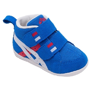 [陽光樂活]ASICS KIDS兒童系列 / FIRST / FABRE FIRST MS II SUKU2嬰兒鞋 TUF110-4299 (藍)