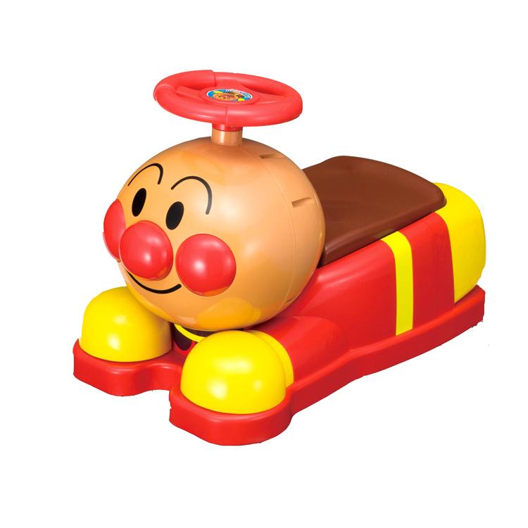 大田倉 日本進口正版商品 麵包超人造型滑步車玩具 幼兒 學步車 助步車 308701