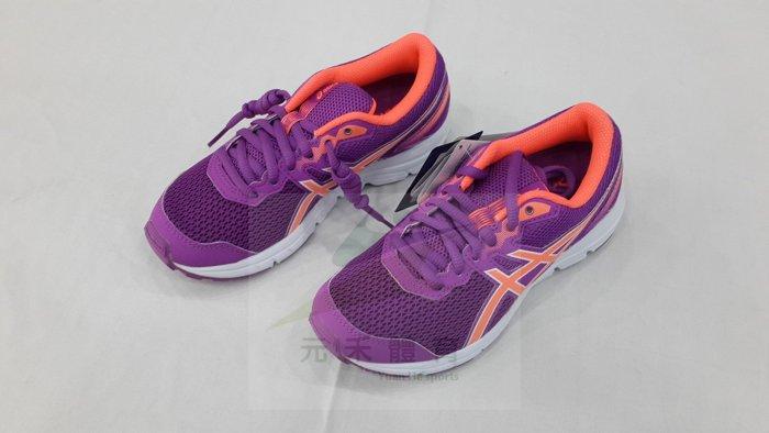 元禾〉ASICS亞瑟士 GEL-ZARACA 5 GS 女童鞋慢跑鞋 C635N-3606