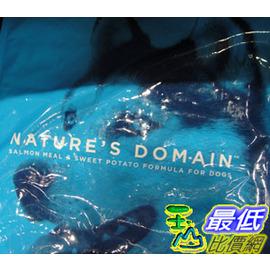 [COSCO代購 如果沒搶到鄭重道歉] Kirkland Signature 科克蘭 鮭魚&甘薯配方乾狗糧 15.87公斤 _W470974