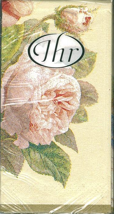Fairy Rose (奶油底色)-德國 IHR 紙手帕