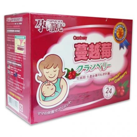 【孕哺兒®】清新蔓越莓 24包入