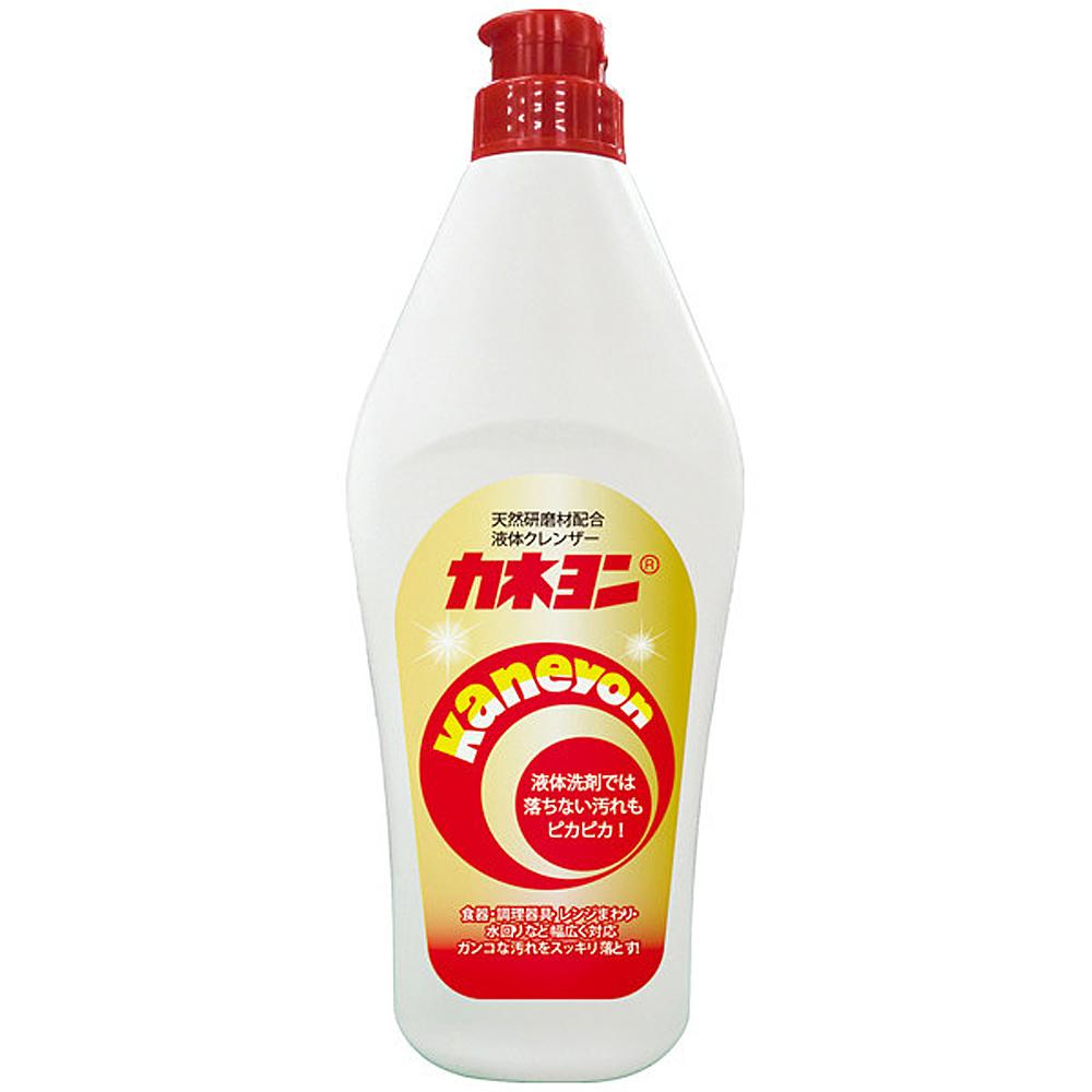 日本 KANEYO 廚房/浴室萬用清潔劑 550g / 洗碗精 餐具 浴缸 瓦斯爐