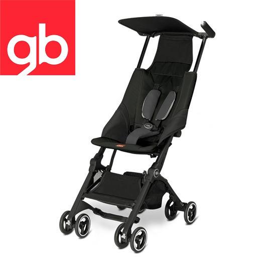 【Goodbaby】Pockit 折疊嬰兒手推車(黑色) MONUMENT BLACK 616230001