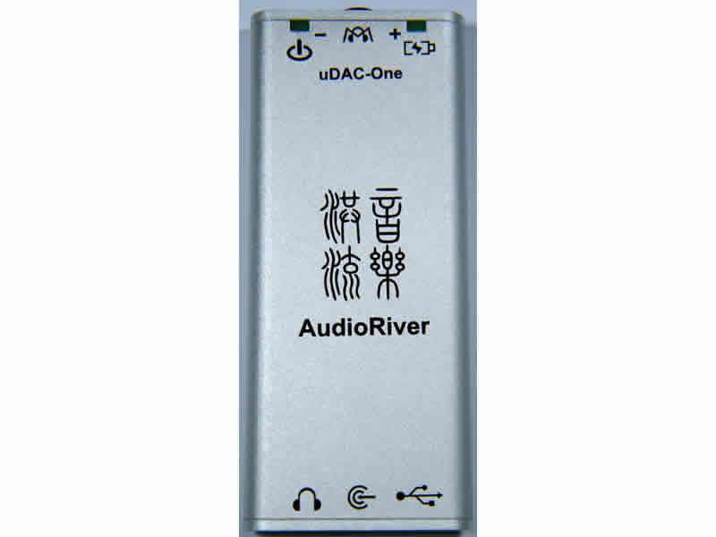 志達電子 uDAC-One AudioRiver 迷你隨身USB DAC + 隨身耳擴 支援到 192KHz 24 Bit 鐵三角 AKG SENNHEISER SHURE