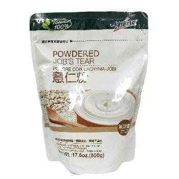 健康時代 薏仁粉(無糖) 500g/包 原價$150 特價$140
