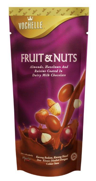 ★特惠89折★【VOCHELLE】皇冠堅果葡萄乾巧克力 ❤ 馬來西亞進口頂級巧克力球