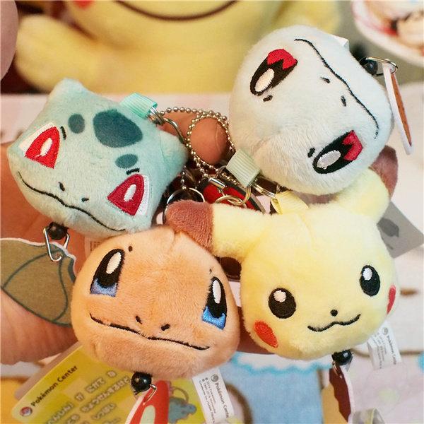 =優生活=日本Pokemon Go寶可夢皮卡丘 小火龍 傑尼龜 妙蛙種子 神奇寶貝多功能自動伸縮鑰匙扣 鑰匙圈 吊飾娃娃 識別證