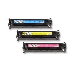 【台灣耗材】HP 環保碳粉匣305A CE411A藍色/CE412A黃色/CE413A紅色 單支顏色任選 5%覆蓋率2600張 適用 HP M451nw/M451dn/M375nw/M475dn雷射印表機