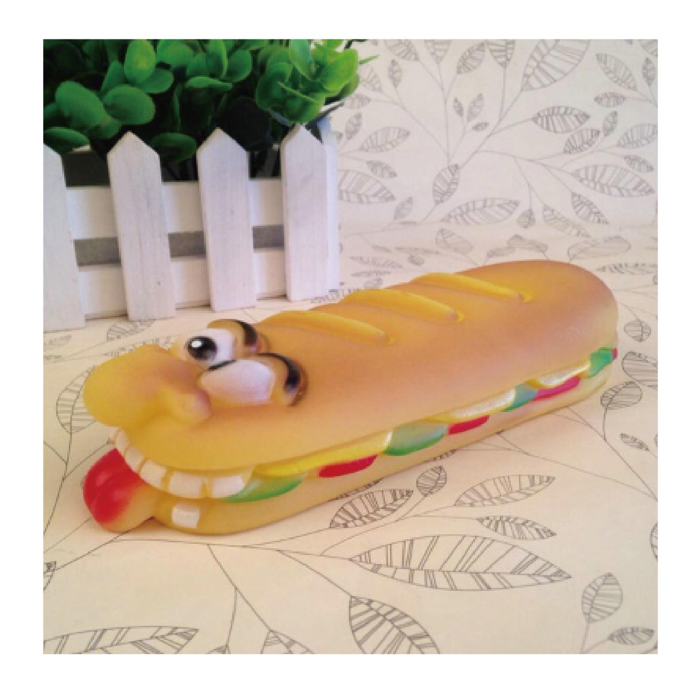 狗玩具-長麵包