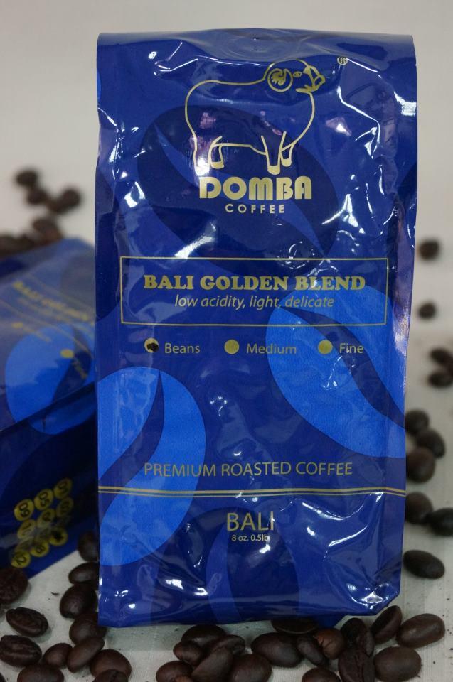 DOMBA COFFEE巴里島小綿羊母豆咖啡單包裝 (每包半磅裝)