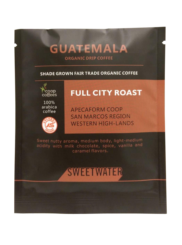 【SWEETWATER】瓜地馬拉有機咖啡豆--掛耳式