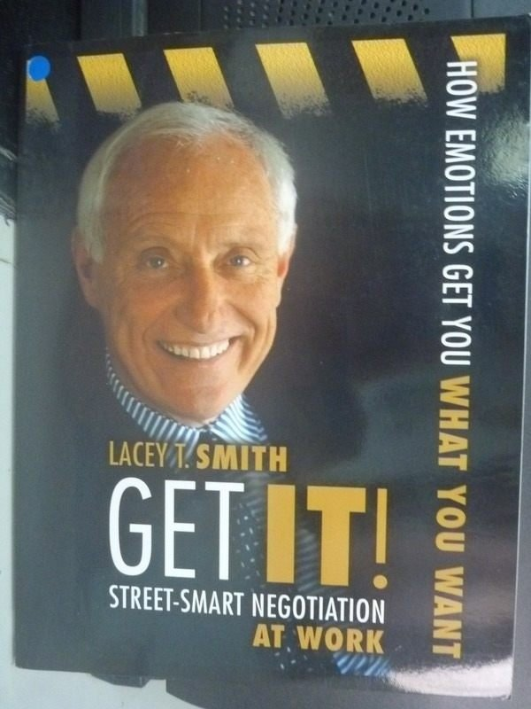 【書寶二手書T9/溝通_ZCG】Get It! Street-Smart Negotiation At