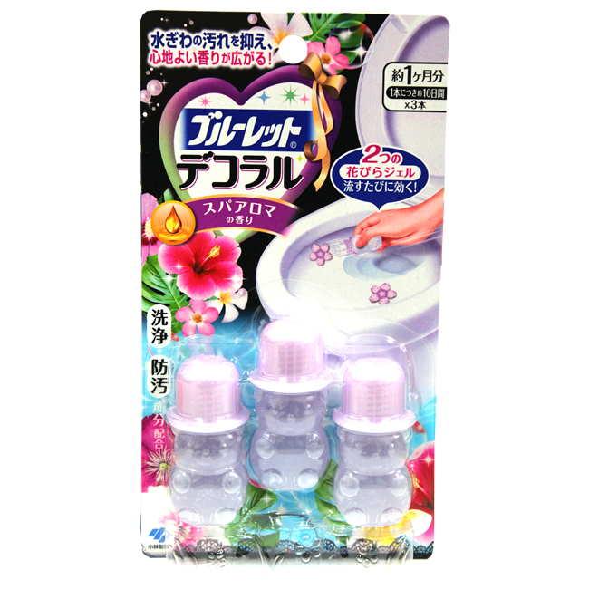 小林製藥花型馬桶凝膠除臭劑-紫色花香