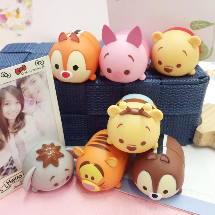 PGS7 (現貨+預購) 日本迪士尼系列商品 - 迪士尼 TSUM TSUM 疊疊樂 磁鐵 文件夾 名片夾 小豬 小熊維尼 奇奇蒂蒂
