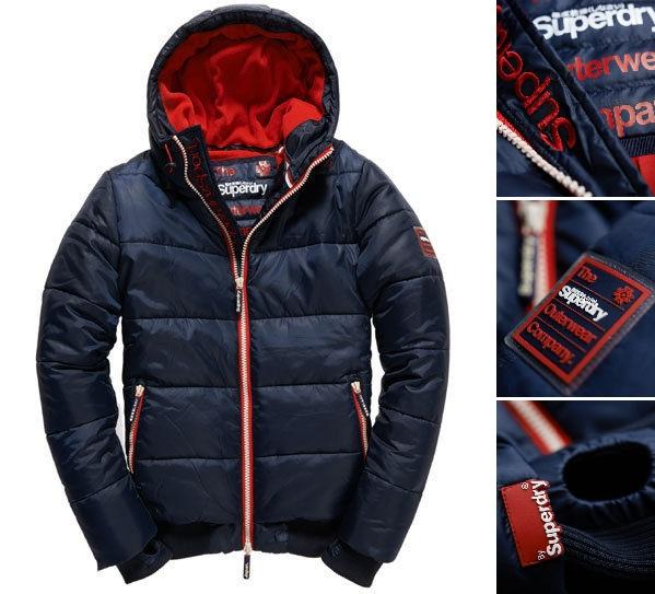 男款 極度乾燥 Superdry 經典保暖外套 羽絨 防風 超輕質 潮流必備 斷貨出清