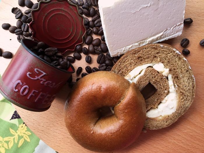 《Milky Cookie》咖啡拿鐵貝果    1入