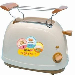 免運費 KRIA可利亞 烘烤二用笑臉麵包機 KR-8003(咖啡色)