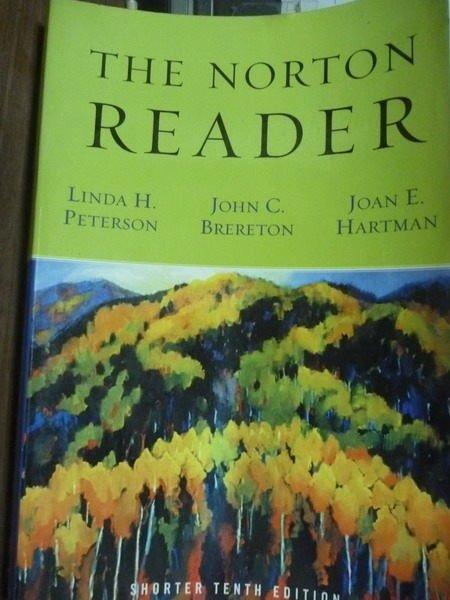 【書寶二手書T8/原文書_PFB】The Norton Reader_Peterson
