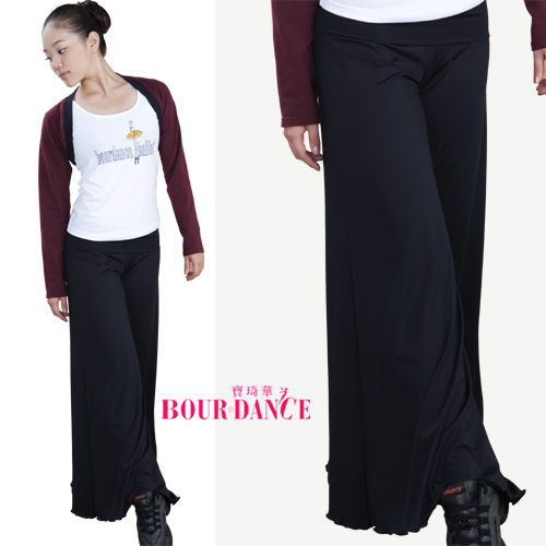*╮寶琦華Bourdance╭*專業瑜珈韻律芭蕾☆大寬筒水褲【BDW10F32】
