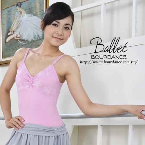 *╮寶琦華Bourdance╭*專業芭蕾舞衣☆成人芭蕾★後仿蝶結設計連身舞衣【BDW12B01】