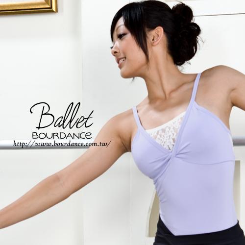 *╮寶琦華Bourdance╭*專業芭蕾舞衣☆成人芭蕾★拼接蕾絲美背設計連身舞衣【BDW12B06】