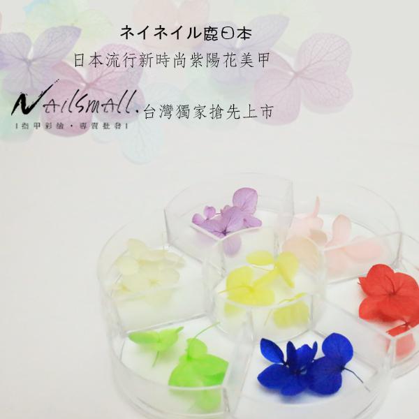 日系紫陽乾燥花(7色) 日系水晶美甲