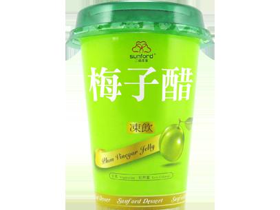 三福梅子醋凍飲320公克/杯【合迷雅好物商城】