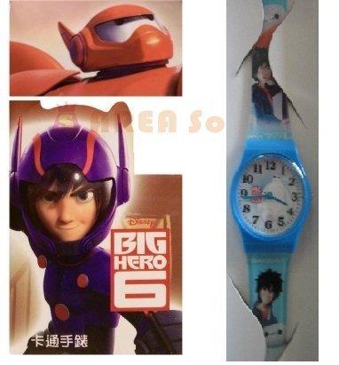 【禾宜精品】正版 迪士尼 大英雄天團 手錶 兒童錶 休閒錶 卡通錶 生活百貨 (BG-514)