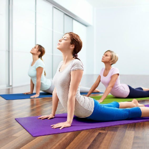 PS Mall 止滑瑜珈墊加厚款6MM 173*61cm 睡墊 運動墊 網狀夾層 止滑 防滑瑜珈墊 附背包【H067】